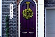 front door LOVE♡ / by natassia kristin