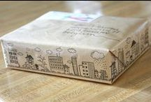 Gift Wrap/Packaging / by Trish Cremeens