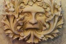 Green Man, Gargoyles, Misericords / Architectural carvings, mythic beasts / by Medieval Muse