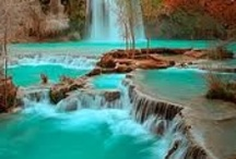 Creaks, water falls, rivers, water fountains, lakes, etc / by Mary Lou McMarlin