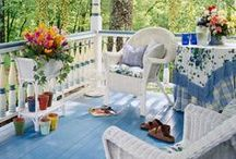 Home Sweet Home: Porches / by Kelley *