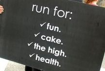 just run. / by Becca