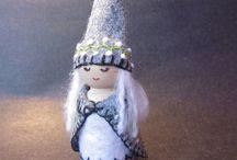 Peg dolls / by Gillian Golding