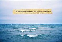 Go somewhere / by Becca