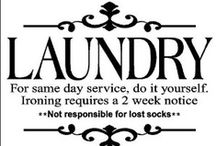Laundry Stuff / by Christina Warren