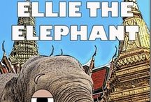 "Ellie the Elephant / ""Ellie the Elephant,"" book two of the World Adventurers for Kids Series, is an illustrated picture book that encourages children to follow their dreams. A young elephant named Ellie who lives in Thailand dreams of joining the elephant polo team and playing in the Elephant Cup polo tournament, but her parents want her to work in the rice fields. Will she realize her dream? ""Ellie the Elephant"" was published on April 1, 2013, and is available at www.mgedwards.com. / by M.G. Edwards"