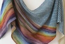 Knitting - shawls, scarves etc. / by Tone Edvardsen