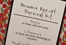 For My Groom / by Meredith Bassford