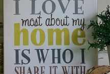 a home is built with love & dreams / by Casey Leisz