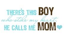 ♥ MOM&SON ♥ / by Hazel Ordoñez