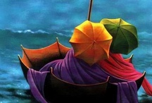 Umbrellas / by Jill'Ene Parkinson