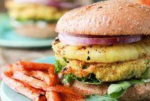 Sandwiches / Veggie Burgers / by Victoria Regan