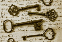 Keys, Locks and Doors / by Vicky Logan