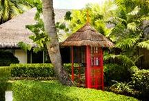 Phone Home / We believe that holidays should be stress free, which is why if you explore our grounds you'll find an original phone booth that houses a VOIP phone, which will let you make local and international calls free of charge. We just ask one thing. Please do not call the office! / by LUX* Resorts & Hotels