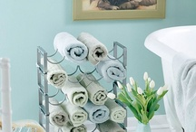 Clean & Organized / cleaning tips, ideas to organize storage, living in small space, etc. / by Candis M