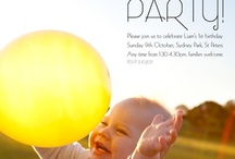 birth :: first birthday parties / Planning a first birthday for your baby?  Check out some of these amazing ideas! Cake smashes, invitations, decorations, themes - they're all here! / by Birth Australia