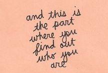 Words / by Niki Bivona