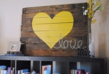 Home {wall art} / by Tara Morris