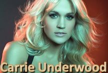 Carrie Underwood ❤️ / She is one of my all time favorite female country singers...the other is Dolly Parton / by Julia Carswell Sweitzer
