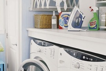 Laundry Room / Home decor: decorating tips for the laundry room / by Baby Dickey