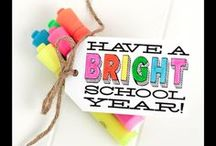 Back-to-school / Back to school themed board: gifts for students, gifts for teachers, parties, food, recipes, and more / by Baby Dickey