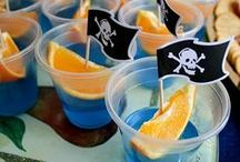 Pirate Party / Pirate themed birthday party ideas: food, decor, games, etc. / by Baby Dickey