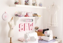 Sewing spaces  / by Ivey Crenshaw