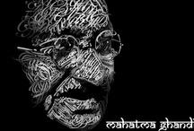 Gandhi teaches us / by Naini Nakagawa