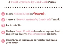 Sweet Creations by Good Cook #SweetCreations  #AskGoodCook #win #sweepstakes #goodcook / Sweet Creations by Good Cook #SweetCreations  #AskGoodCook #win #sweepstakes #goodcook Kitchen fun for the Holidays! Great gadgets and decorations for your baking needs! / by Linda Ann
