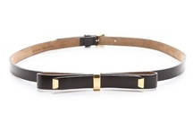 Accessories: Belts / by ATB | AllThingsBeautiful
