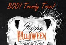 BOO! Trendy Tree! / First ever Trendy Tree Pinning Party has now ended (9/21/2014)   Winner of the $50 Gift Certificate goes to Jill Troutman! / by Trendy Tree