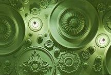 Green (VERT) / «Tous les écologistes sont daltoniens, ils voient vert partout !» - Raymond Devos  / by Amylee Paris