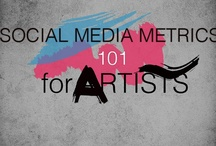 How to promote artworks ? Use Social Media / Social Media for Artists  / by Amylee Paris