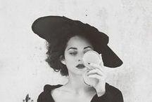 """Sexy Hats (CHAPEAUX) / """"Elle avait un chapeau à franges qui croulait sous le poids des fleurs... C'était un jardin suspendu."""" Céline / by Amylee Paris"""