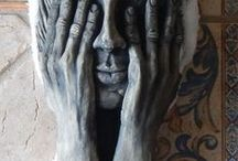 Wall Sculptures / Limited edition wall sculptures. / by Patricia Srigley