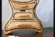 Creative Wood Boxes / by Woodford Woodworking Tools and Machines UK.
