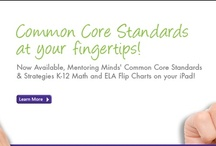 Common Core Standards  / Most states in the country are members of the Common Core Standards Initiative, with nearly as many having formally adopted its standards for school curricula. The aim of the CCSS initiative is to outline very clear standards for K-12 student success and what they are expected to learn in school. The Common Core Standards currently apply to English language arts and mathematics, and the states aim to enact the complete initiative by the year 2015. / by Mentoring Minds