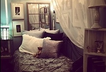 Dorm and 1st Apartment Ideas / Creative, budget friendly, space saving ideas for your fist apartment or dorm room. / by Paige Spink