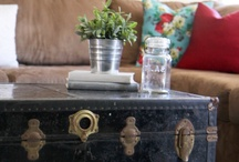 Repurpose / Upcycled furniture and accessories for the home / by Paige Spink