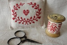 Cross Stitch Hearts / by Donna Parris