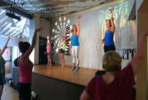 """Ultimate Girls Night In- Jazzercise Classes / Get your """"ME"""" time at Jazzercise- it feels more like a Girl's Night Out than exercise! / by Jazzercise Inc"""