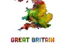 Great Britain / England, Ireland, Scotland & Wales / by JaynieJellyBelly