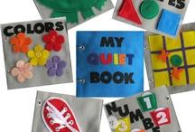 Kids-Quiet Books & Appliques / by Karen Opitz