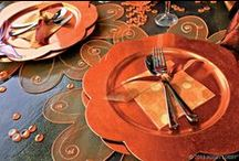 Fall Colors / This fabulous, fruity color never looked so good! Go for warmth (and yes, luxury!) with our versatile party ware collection in beautiful shades of orange. / by Hobby Lobby