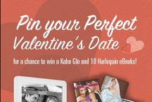 Perfect Valentine's Date / Create your perfect Valentine's Day date for a chance to win a Kobo Glo and 10 Harlequin eBooks! http://www.kobobooks.com/xoxoxo / by Harlequin Books