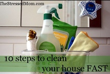 To get things clean / Help to get your house clean and keep it that way / by Bernice @ TheStressedMom.com