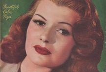 Rita Hayworth / by Jean Romanek