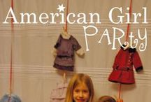 Lydia's American Girl Party / An American Girl Doll party for my 8 year old. Coming January 2014... / by ohAmanda