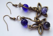My handmade jewelery / I make jewelry with beads and metal. Here are the results of my work. :) / by Marta Janiec