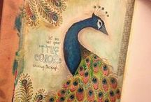Art Journal Ideas / Pretty self explanatory - inspiring ideas for my own art journal. / by Rosemary Hazard